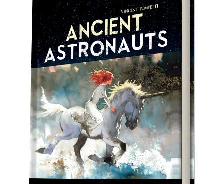 Les Anciens astronautes publiés chez Black Panel Press